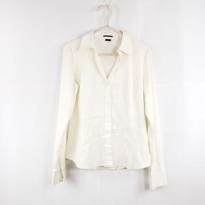Theory Mariska Button Down Stretch Shirt